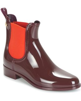 Pisa Women's Mid Boots In Red