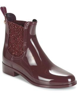 Sardenha Women's Mid Boots In Red