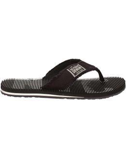 Fm0fm00246 Flip Flops Man Black Men's Flip Flops / Sandals (shoes) In Black