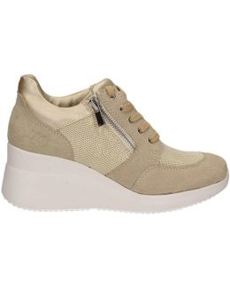Sw24505 001 N72 Shoes With Laces Women Gold Women's Shoes (trainers) In Gold