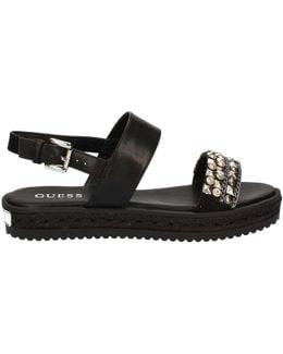 Flaar2 Fab03 Sandals Women Black Women's Sandals In Black