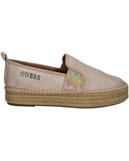 Flrel2 Fam14 Slip-on Women Beige Women's Espadrilles / Casual Shoes In Beige