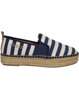 Flrel2 Fap14 Slip-on Women Blue Women's Slip-ons (shoes) In Blue