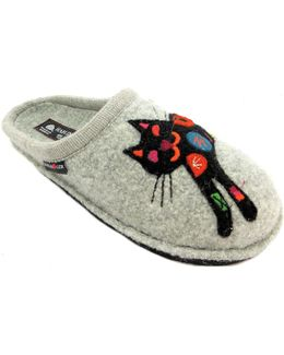 Flair Sassy Women's Slippers In Grey
