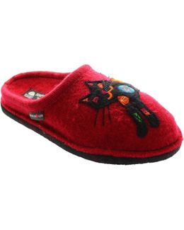 Flair Sassy Women's Slippers In Red