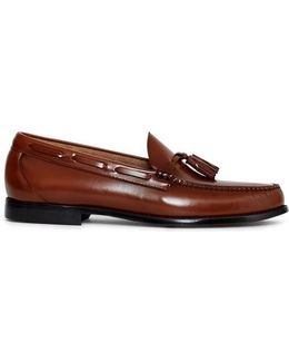 Weejuns Larkin Tassle Loafers Tan Men's Loafers / Casual Shoes In Other
