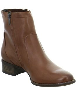 8063001 Women's Low Ankle Boots In Brown