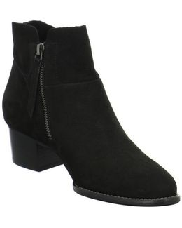 9151021 Women's Low Ankle Boots In Black