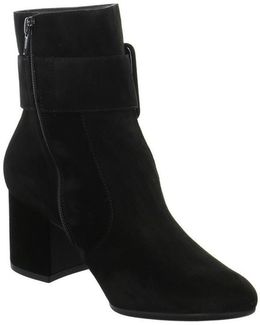 9075001 Women's Low Ankle Boots In Black