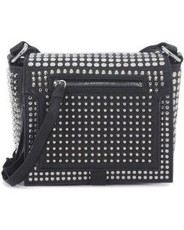 Borsa A Tracolla By Alexander Wang Loveless Pelle Nera Con Borc Women's Shoulder Bag In Black