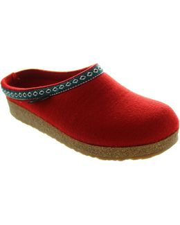 Grizzly Franzi Women's Clogs (shoes) In Red