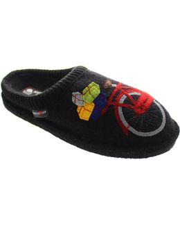 Flair Radl Women's Slippers In Black