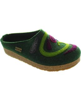 Grizzly Jette Women's Slippers In Green