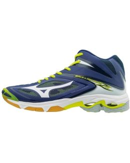 Wave Lightning Z3 Mid Men's Shoes (high-top Trainers) In Blue