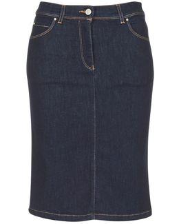 Drenoz Women's Skirt In Blue