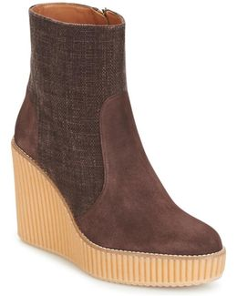 Quilmes Women's Mid Boots In Brown