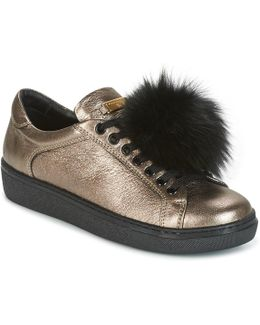Cervinia Pom Pon Women's Shoes (trainers) In Gold