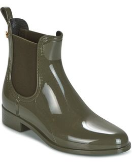 Comfy Women's Mid Boots In Green