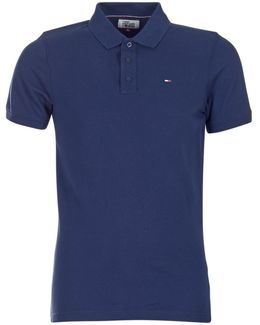 Thdm Basic Polo S/s 1 Men's Polo Shirt In Blue