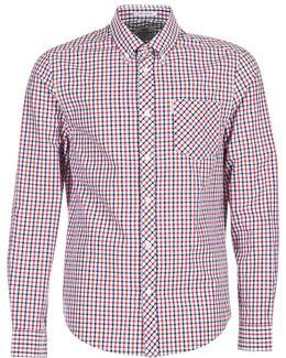 Ls House Check Men's Long Sleeved Shirt In Multicolour