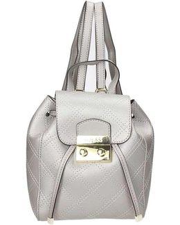 Hwaria P7344 Backpack Women's Backpack In Silver
