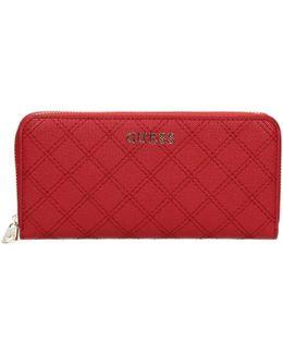 Swaria P7346 Wallet Women's Purse Wallet In Red