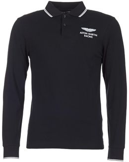 Mizat Men's Polo Shirt In Black