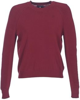 Suzaki Knit Women's Sweater In Red