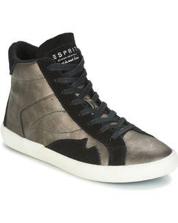 Vera Bootie Women's Shoes (high-top Trainers) In Grey