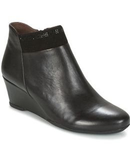 Emily 14 Nappa Women's Low Boots In Black