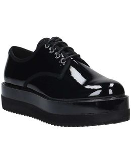 Flmin3 Ele13 Lace-ups Women's Casual Shoes In Black