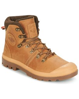 Pallabrouse Hikr Men's Mid Boots In Brown