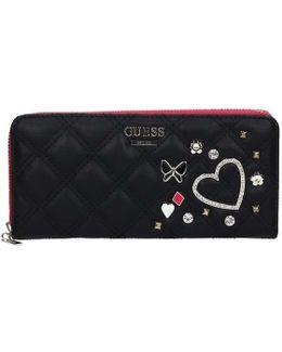 Sweg66 85460 Wallet Women's Purse Wallet In Black