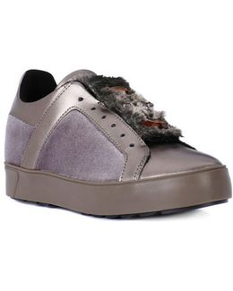 Ramona Taupe Women's Shoes (trainers) In Multicolour
