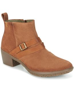 Alhambra Women's Low Ankle Boots In Brown
