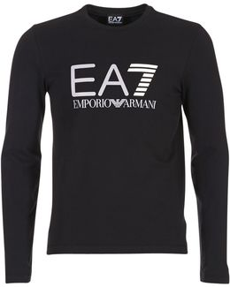 Train Logo Series M Te Men's Long Sleeve T-shirt In Black