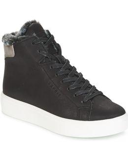 Elda Bootie Women's Shoes (high-top Trainers) In Black
