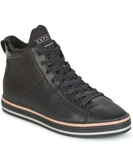 Sita Bootie Women's Shoes (high-top Trainers) In Black