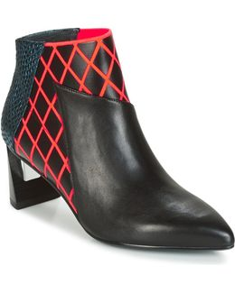 Zink Mid Women's Low Ankle Boots In Black