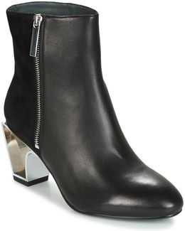 Icon Boot Mid Women's Low Ankle Boots In Black