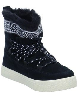 Alpine Snow Women's Snow Boots In Black