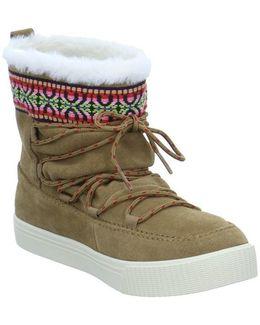 Alpine Snow Women's Snow Boots In Brown