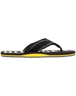 Floyd 13d Men's Flip Flops / Sandals (shoes) In Black