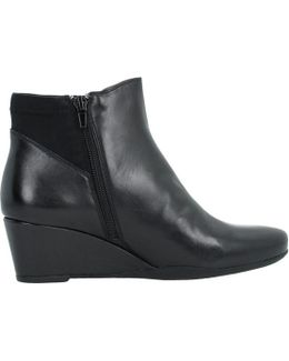 Emily 13 Women's Low Ankle Boots In Black