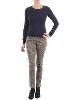 Skin Pants Woven Women's Trousers In Grey