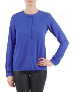 Blouse Blouses Woven Women's Blouse In Blue