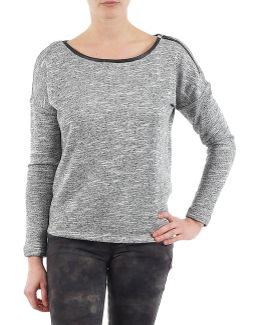 Zipper Sweat Women's Sweatshirt In Grey