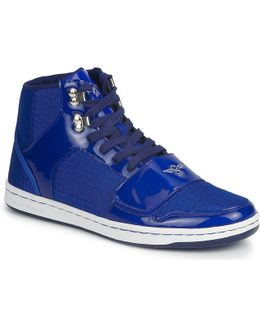 Gs Cesario Men's Shoes (high-top Trainers) In Blue