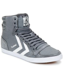 Ten Star High Women's Shoes (high-top Trainers) In Grey