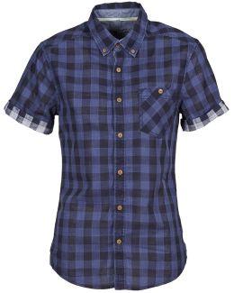 Utility Mix Women's Shirt In Blue